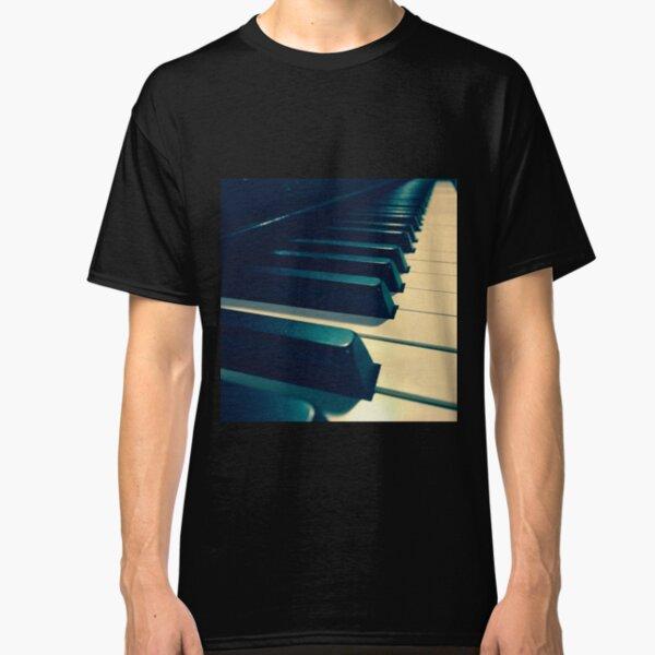Blue Piano Keys by Jerald Simon (Music Motivation - musicmotivation.com) Classic T-Shirt
