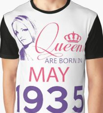 It's My Birthday 83. Made In May 1935. 1935 Gift Ideas. Graphic T-Shirt