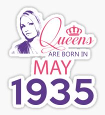 It's My Birthday 83. Made In May 1935. 1935 Gift Ideas. Sticker