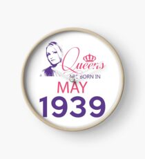 It's My Birthday 79. Made In May 1939. 1939 Gift Ideas. Clock