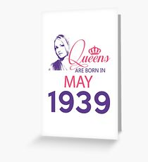 It's My Birthday 79. Made In May 1939. 1939 Gift Ideas. Greeting Card