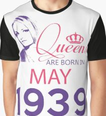 It's My Birthday 79. Made In May 1939. 1939 Gift Ideas. Graphic T-Shirt