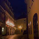 Door at right (My city) by Antanas