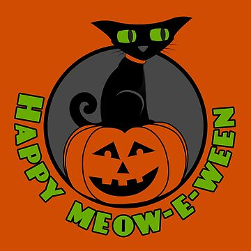 Midnight - Happy Meow-e-ween by cdavenport4