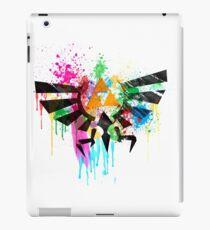 Hylian Paint Splatter iPad Case/Skin