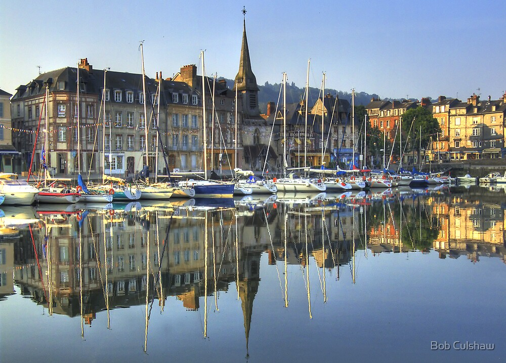 Honfleur 2, France by Bob Culshaw