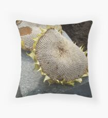 Who's been eating my sunflower seeds! Throw Pillow