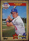 430 - Steve Sax by Foob's Baseball Cards