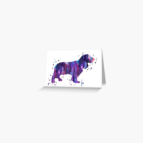 English Cocker Spaniel Greeting Card