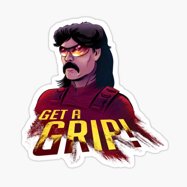 Dr. Disrespect Sticker