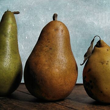 Three Pears - Still Life by WesternExposure