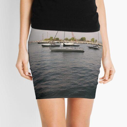 #boat, #yacht, #water, #boats, #ship, #marina, #sky, #harbor, #port, #sailboat, #sailing, #blue, #harbour, #sail, #vessel, #nautical, #travel, #summer, #yachts, #dock, #coast, #pier Mini Skirt