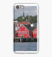 Lunenburg Nova Scotia iPhone Case/Skin