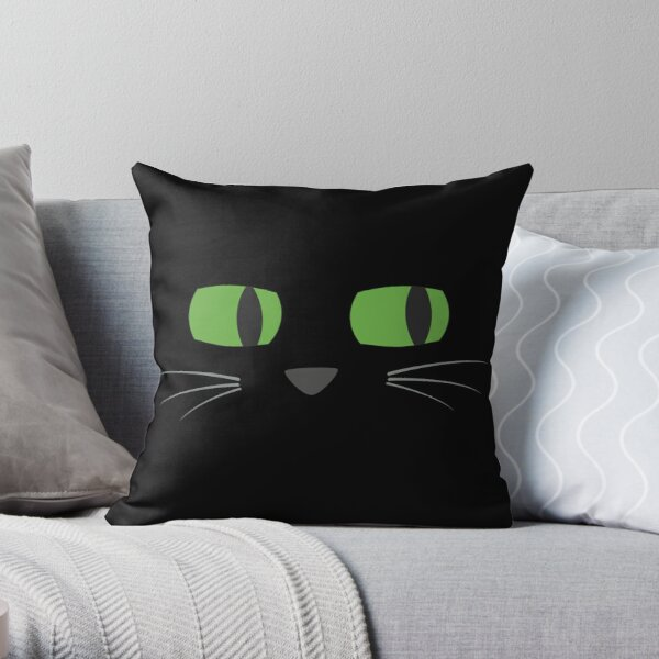 Midnight - Face Time Throw Pillow