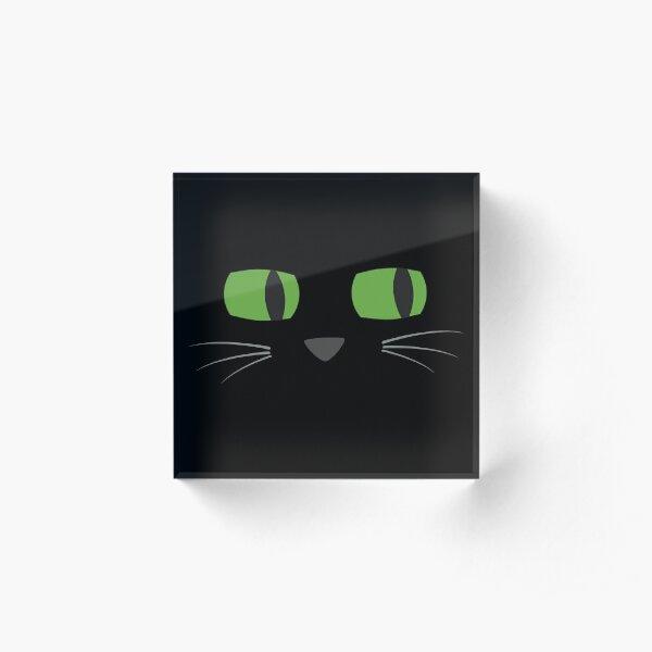 Midnight - Face Time Acrylic Block