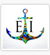 Emerald Isle Anchor  Sticker