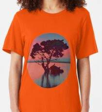 Wood in Sunset Slim Fit T-Shirt