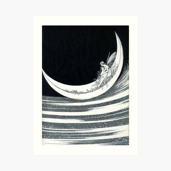Anne Rides on the Heavenly River ~ Fairyland - Ida Rentoul Outhwaite Art Print