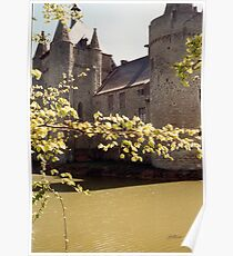 The Moat - Laarne Castle - Belgium Poster