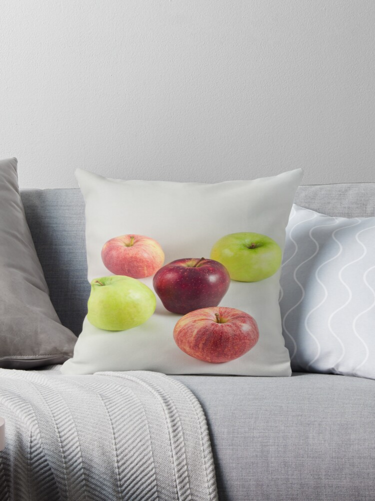 Apples on White by Ilva Beretta