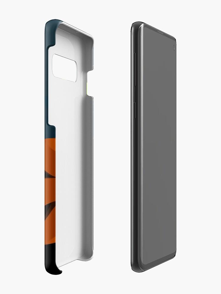Alternate view of Midnight - Edinburgh Castle Case & Skin for Samsung Galaxy