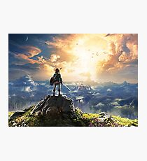 Legend of Zelda : Breath of the Wild artwork Photographic Print