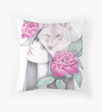 Wild Roses Floor Pillow