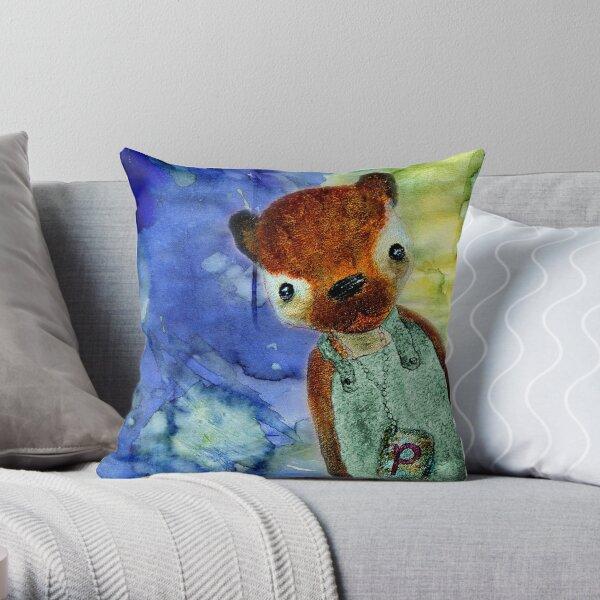 Little Pepe Throw Pillow