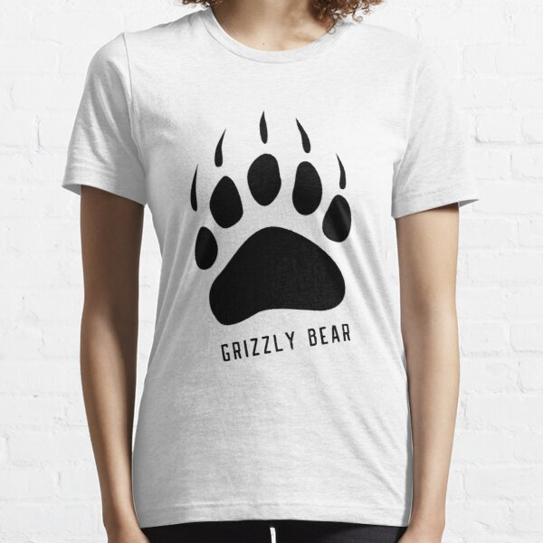Best Grizzly Bear Paw T-shirt & Sticker, Bear Paw Stickers and shirt. Essential T-Shirt