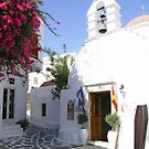 The sun is still shining in Mykonos  by John44