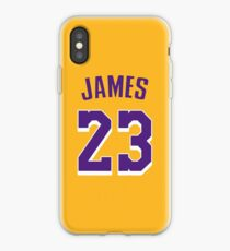 LeBron James Lakers iPhone Case