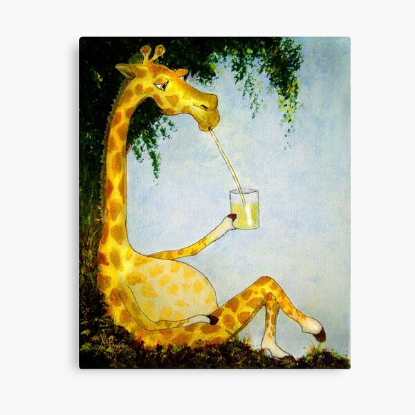 Gerald's Afternoon Sip Canvas Print