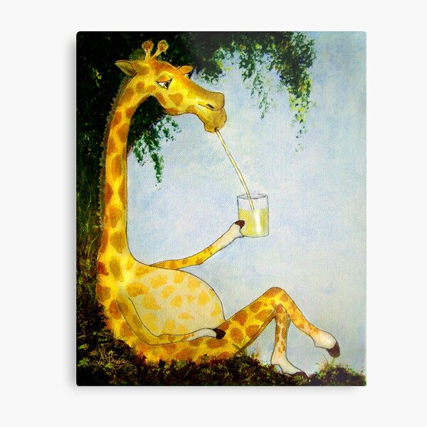 Gerald's Afternoon Sip Metal Print