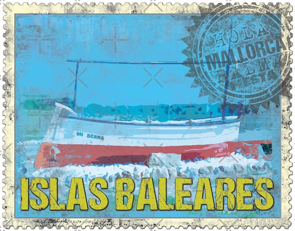 baleares stamp von Periartwork