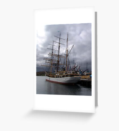 Picton Castle-Lunenburg Greeting Card