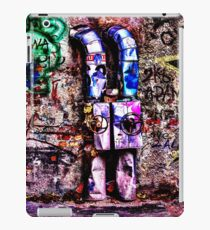 Abandoned Wall Fine Art Print iPad Case/Skin