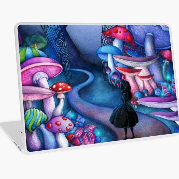 Alice Gates to Wonderland Laptop Skin