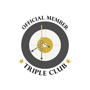 "The ""Triple Club"" - Black Text by itscurling"
