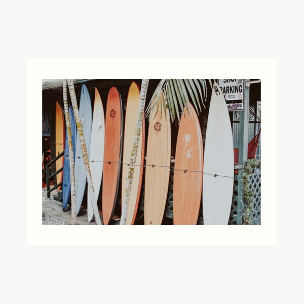 Let's Surf II Art Print