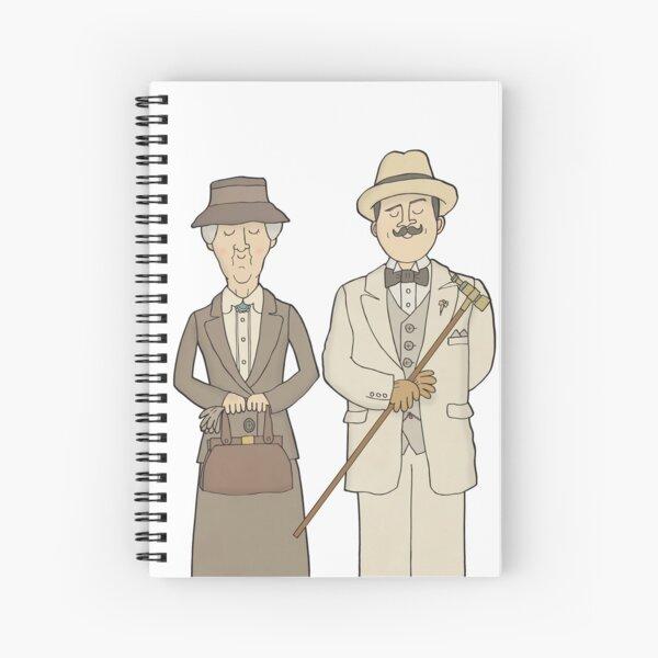 Marple y Poirot Cuaderno de espiral