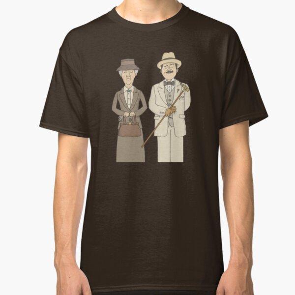 Marple and Poirot Classic T-Shirt