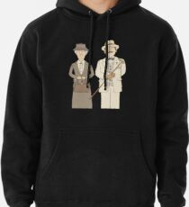 Marple and Poirot Pullover Hoodie
