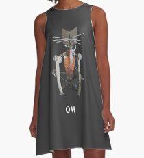 OM CAT A-Line Dress