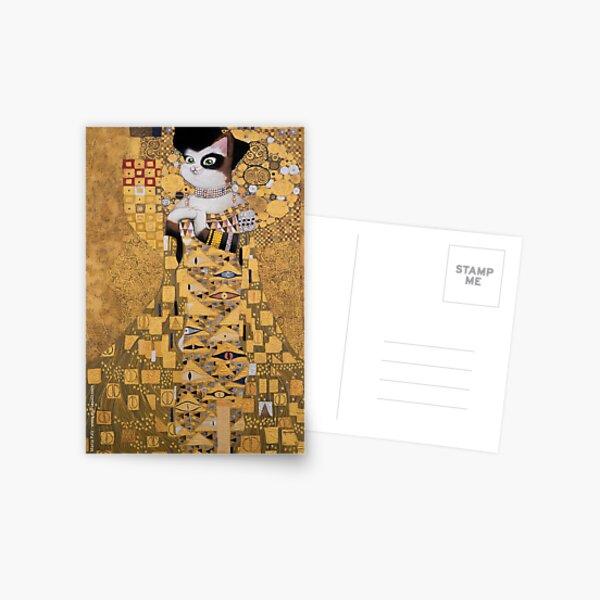 #meowdernart - The Portrait of Adele Bloch-Meower Postcard