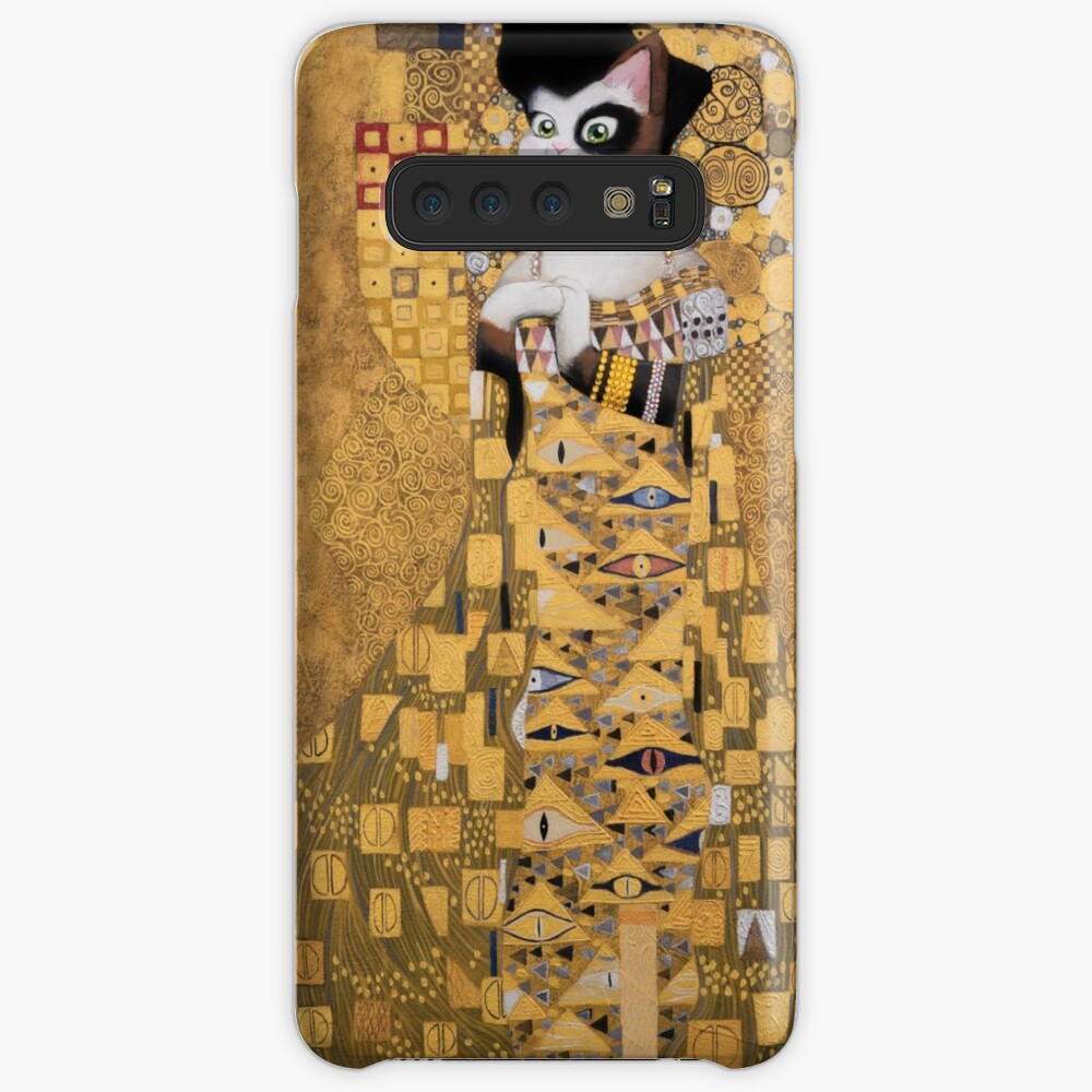 #meowdernart - The Portrait of Adele Bloch-Meower Case & Skin for Samsung Galaxy