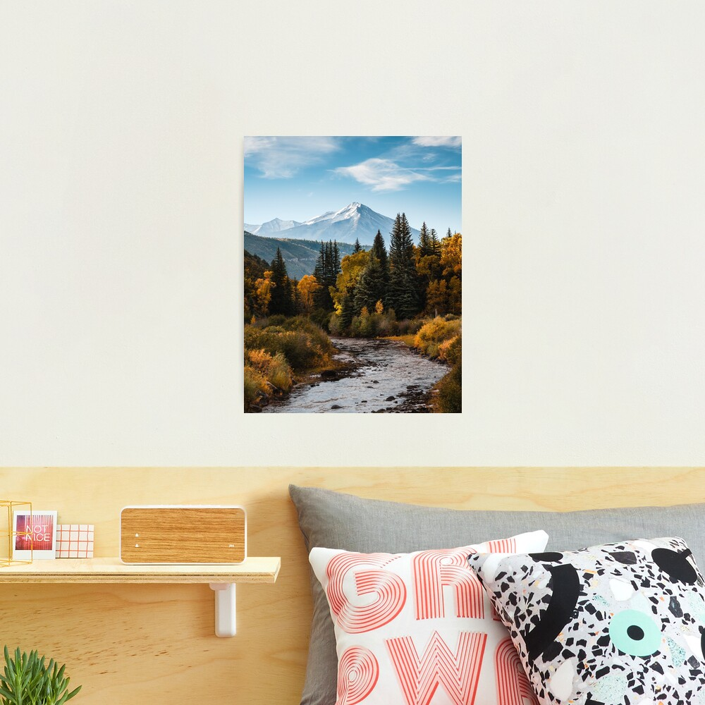 Chair Mountain Photographic Print