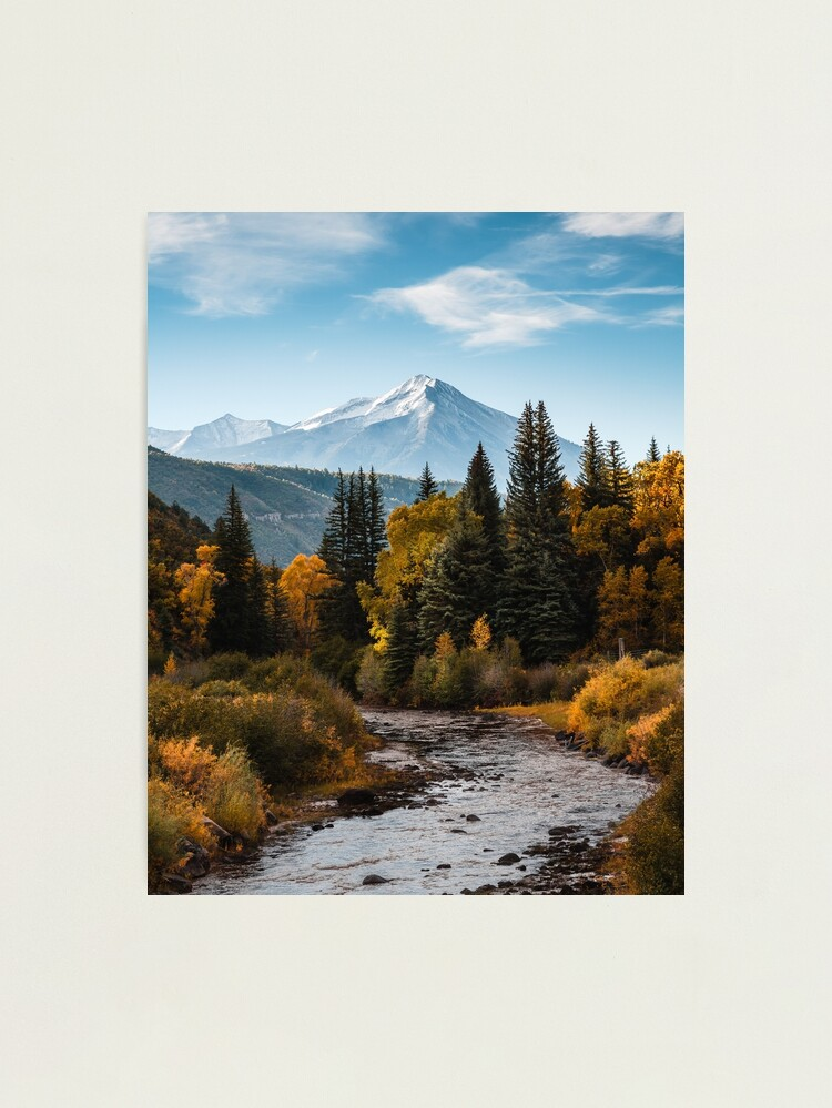Alternate view of Chair Mountain Photographic Print