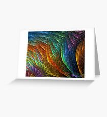 Fiberglass Rainbow Greeting Card