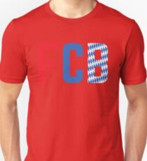 FCB - Red Unisex T-Shirt