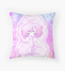 Blanket fort  Throw Pillow